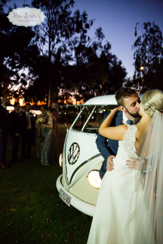 Kombi Celebrations wedding