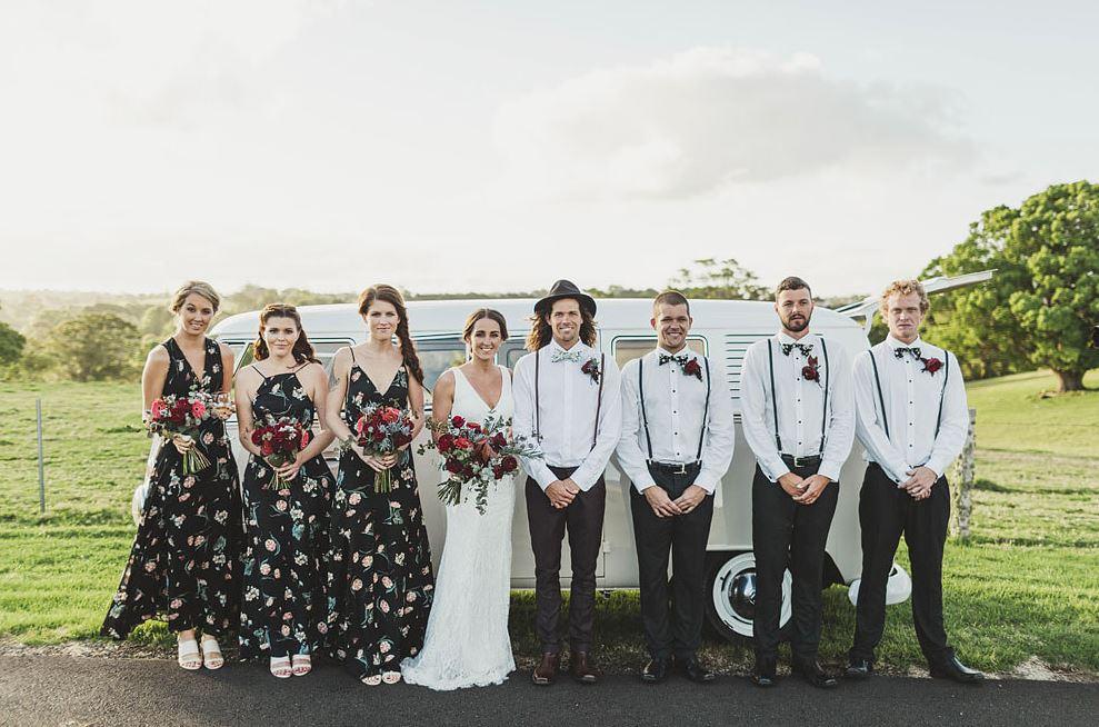 Kombi Celebrations wedding