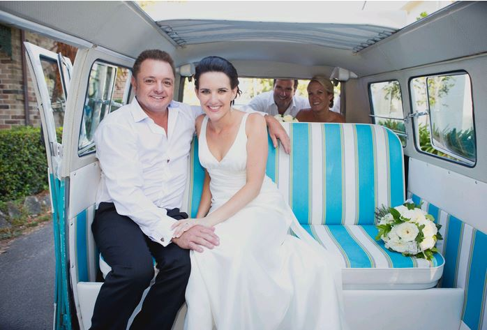 Kombi Celebrations Weddings with Rhonda the kombi