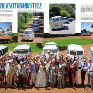VW Magazine and kombi celebrations