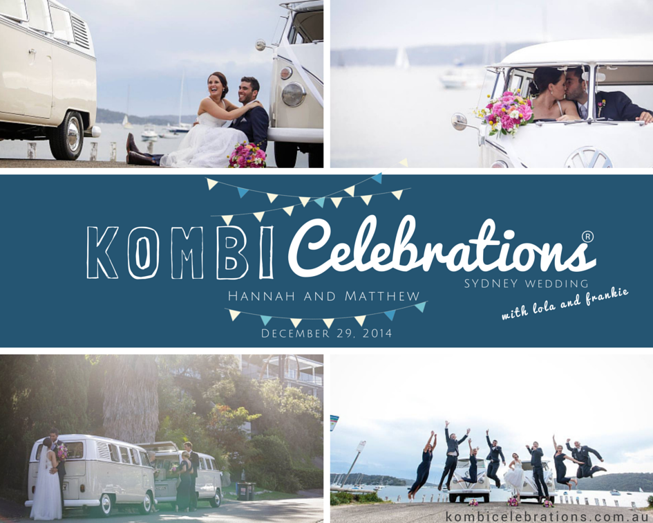 kombi celebrations wedding - hanna&matthew