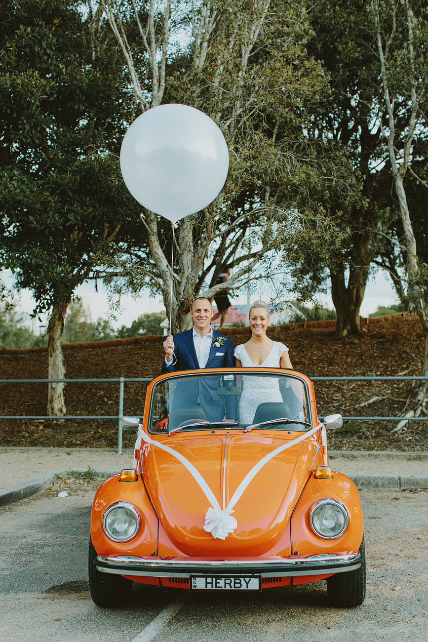 Sydney VW Beetle Wedding