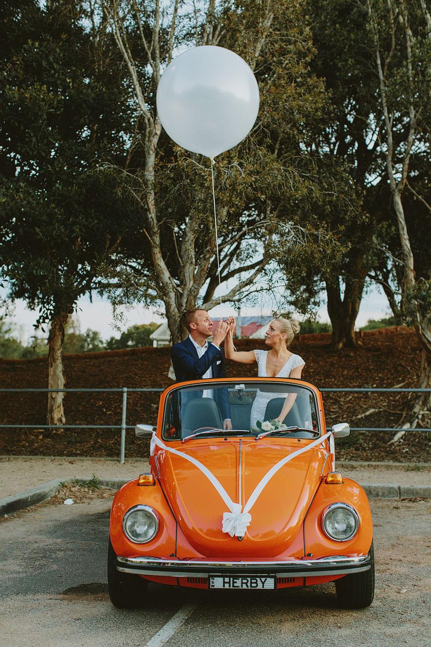 Sydney VW Beetle Wedding