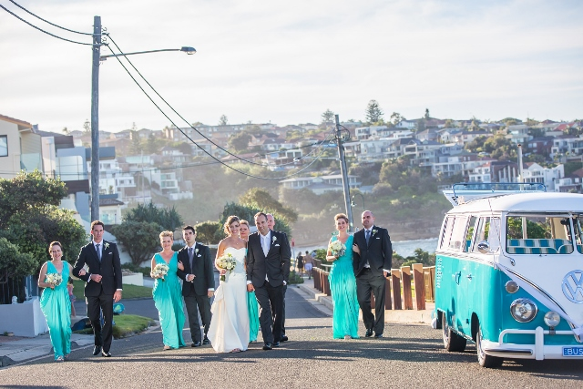 Kombi Celebrations Weddings with Rhonda the kombi