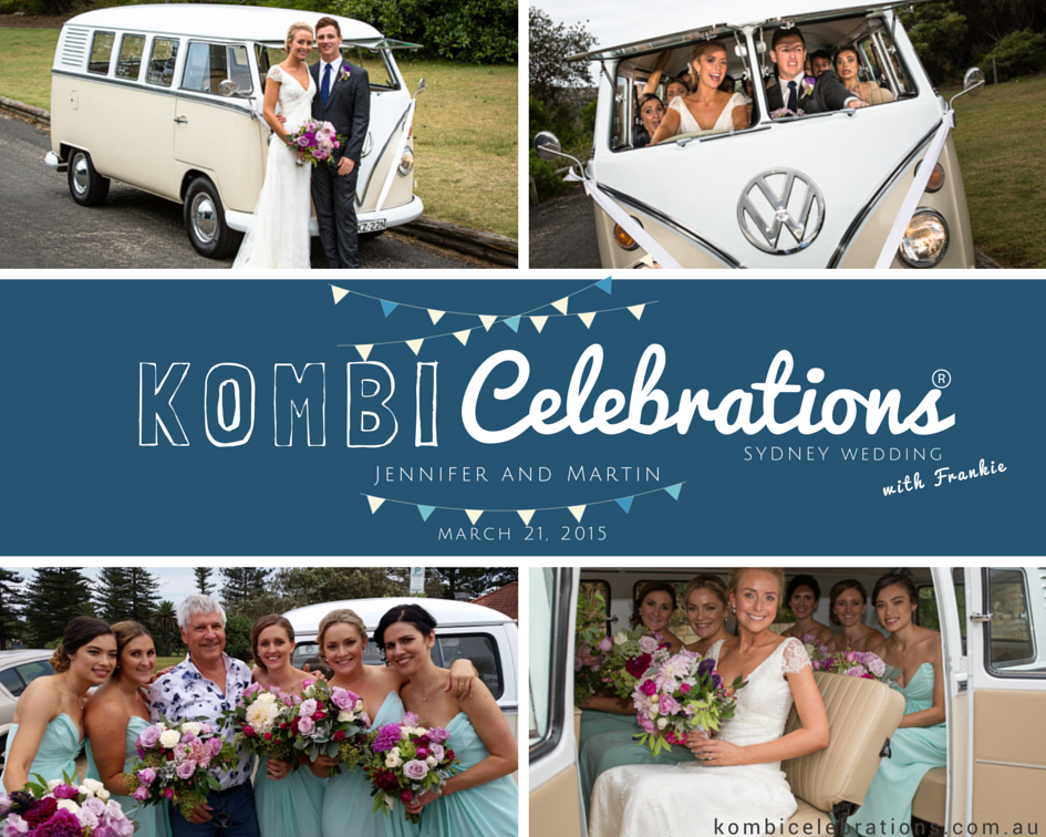 kombi celebrations real wedding