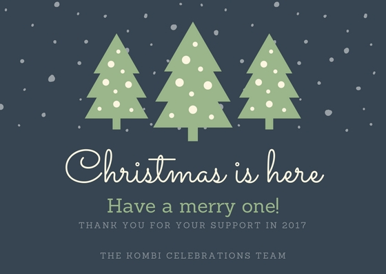 Christmas and new year greetings kombicelebrations on behalf of our state wide team kombi celebrations would like to wish you a very merry christmas with your loved ones and a happy and safe new year m4hsunfo