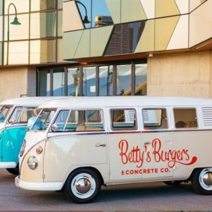bettys burger kombi hire